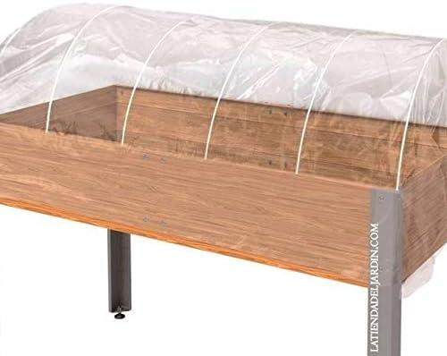Suinga Kit Invernadero para Mesa DE Cultivo. Medida 153x73x30 cm: Amazon.es: Productos para mascotas