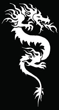Tribal Dragon Serpent Mythical Car Truck Window Laptop Vinyl Decal Sticker