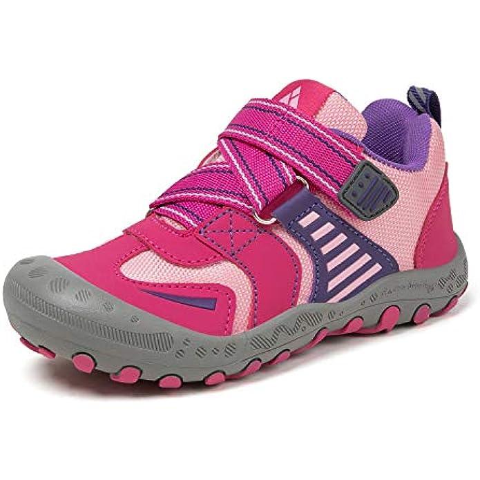 Mishansha Boys Girls Hiking Shoes Kids Anti Collision Non Slip Sneakers Outdoor Trekking Walking Climbing Running