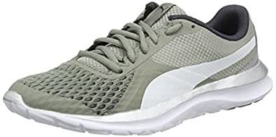 Puma Flex T1 Reveal, Zapatillas Unisex Adulto, Gris (Rock Ridge-Puma White-Puma Silver), 46 EU
