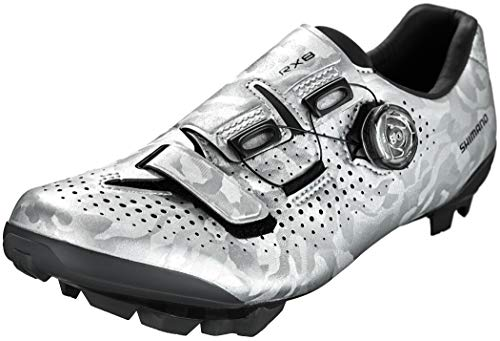 SHIMANO Rx8 Spd Shoes, Silver, Size 45