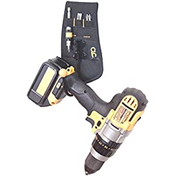 Cordless Drill Impact Driver Hook Holster Holder Belt Loop or Clip-On