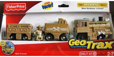- Fisher Price Geotrax Transportation System Lights & Sounds The Luckiest Team Meet Goldstein & Grant