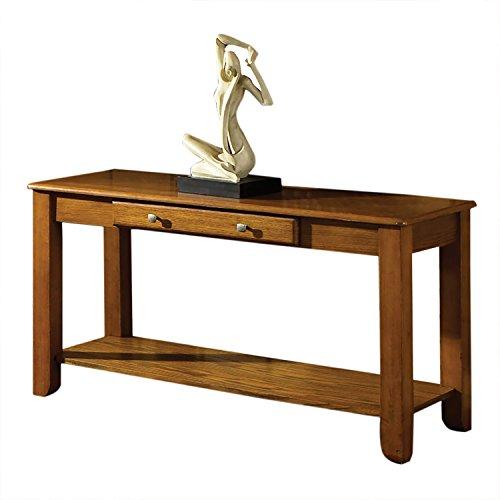 Amazon.com: Steve Silver Company Nelson Sofa Table, Oak