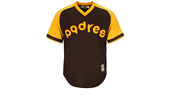 size 40 5f849 08bde Amazon.com : San Diego Padres Cooperstown Majestic Cool Base ...