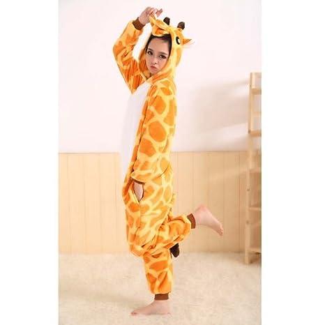 tier cosplay kostume tierkostume erwachsene pyjamas kostum schlafanzug nachtwasche kostum cosplay tier anime kleid s giraffe