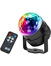 ISO TRADE 7056 Magic RGB led discobal, lichteffect, DJ party, lichtorgel, podiumverlichting