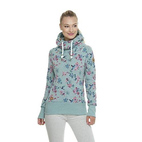85% RABATT Ragwear Damen Sweatshirt Kapuzenpullover Hoodie