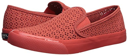 Top Sperry Seaside Corail Sexy sider Nautical Femme Perforées RCq1wdC
