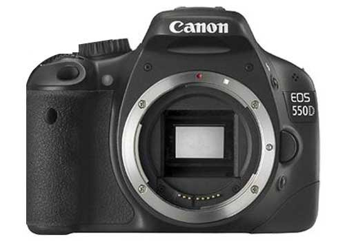 Canon EOS 550D  18 MP CMOS APS-C Digital SLR Camera with 3.0