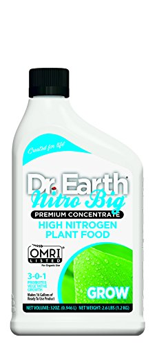 Dr. Earth Nitro Big High Nitrogen Plant Food 32 oz Concentrate