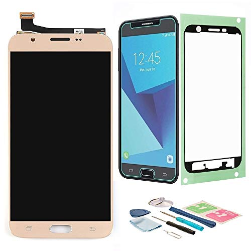 - XR MARKET Compatible Samsung Galaxy J727 Screen Replacement, LCD Display Touch Screen Digitizer Assembly, for Galaxy J7 Sky Pro/J7 2017 SM-J727A J727T J727T1 J727V J727P(NOT for J7 Prime G610) Gold