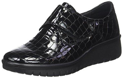Mujer schwarz N 100 Varese Por Romika De Zapatillas Negro Para Casa 12 Estar zqWWwPB7U5