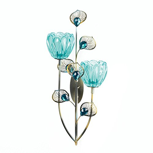Blossom Peacock - Peacock Blossom Duo Cup Sconce