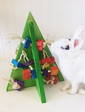 Crazy Christmas Tree Rabbit Toy by Happy Rabbit Toys (Image #1)