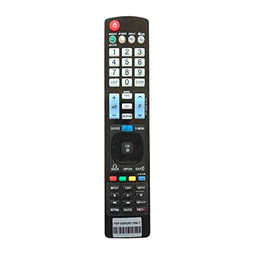 (Coolux Universal Remote Control for All LG Smart 3D LED LCD HDTV - 1 Year Warranty)