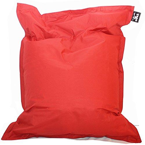Hagoelvago PUF XXL 180 x 140 cm Puff, sillón, Taburete, Cama, cojín, Almohada, Tumbona, para Interiores y Exteriores 100% Impermeable (Incluye ...
