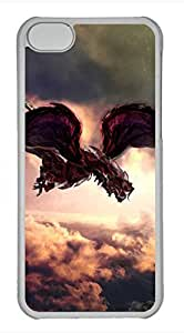 iPhone 5c case, Cute Firedragon iPhone 5c Cover, iPhone 5c Cases, Hard Clear iPhone 5c Covers