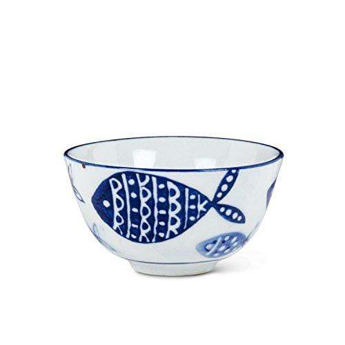 - Abbott Collection 27-BLUEFISH-198 Dip/Sauce Bowl, 3