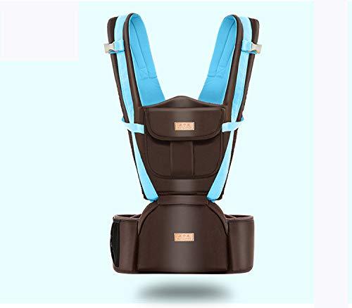 Portabebés Hip Seat-Baby Carrier Azul Mochila 0-48 Meses (rosa Azul Carrier Caqui) 0b84d3