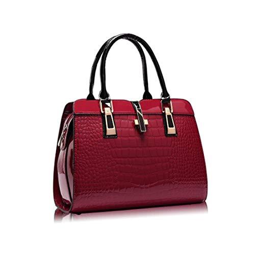 Primavera color Red Grande Wine Red Modelli Hand Bag Ed Femminile Borsa Messenger Capacità Ms Hungrybubble Multifunzionale A Estate Tracolla 5pSZTaq