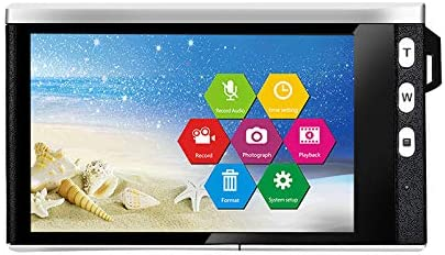 RONSHIN Kids Camera 4 Inch HD IPS Touch Screen 24 Million Pixel SLR Digital Camera with Wide-Angle Lens