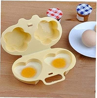 AMOYER Microondas Furtivo del Huevo Escalfado Huevo Cocina ...