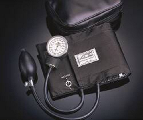 Aneroid Sphygmomanometer Diagnostix 760 Series Pocket Style Hand Held 2-Tube Large, Adult Arm -  AMER DIAG, 760-12XBK