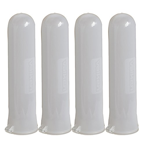 Valken Paintball 140 Round Flick Lid Pod - Clear - 4 Pack by Valken
