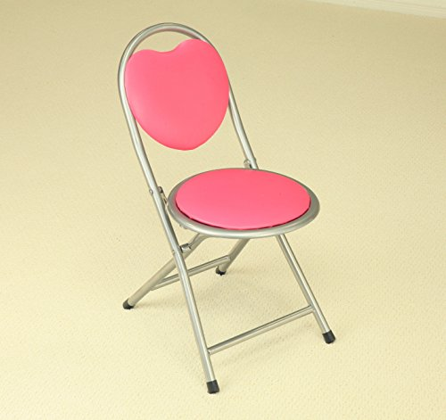 Frenchi Home Furnishing Kids Metal Folding Chair Pink Desk Chairs For Kids
