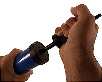 2 way action Hand AIR PUMP For Pool Floats, Exercise Balls, Rody or Hippity Hop bouncer hopper balls from Isokinetics