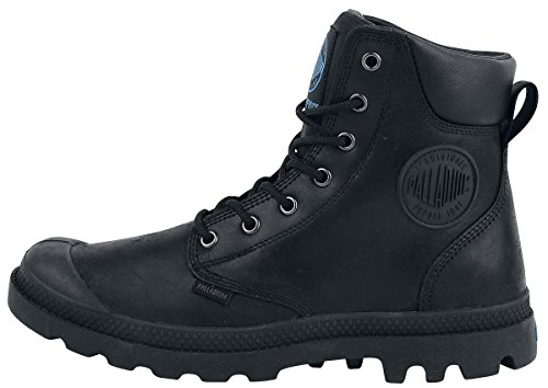 46 Palladium Erwachsene Schwarz Klassische Black Cuff Lux Wp Pampa braun EU Stiefel Unisex Black 466 qqwxpC