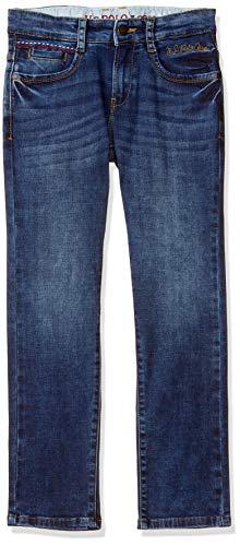 US Polo Association Boy's Slim fit Jeans 2021 June Care Instructions: Machine Wash Fit Type: Slim Color Name: Med Blue