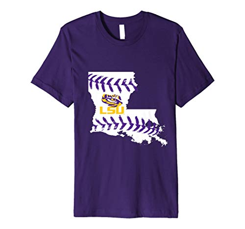 (LSU Tigers Baseball T-Shirt - Apparel )