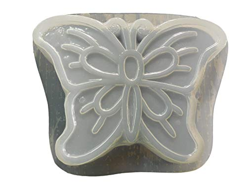 Huge Butterfly Shaped Stepping Stone Concrete or Plaster Mold ()
