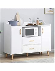 Kitchen Storage Sideboard,Sideboard for Living Roo Buffet Sideboard, Kitchen Storage Cabinet, Console Table Cupboard with Drawer, Tableware Organizer Entryway Storage Cupboard for Dining/Living Room/K