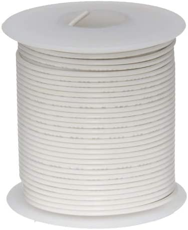 """22 AWG Gauge Stranded Hook Up Wire Yellow 1000 ft 0.0253/"""" UL1015 600 Volts"""