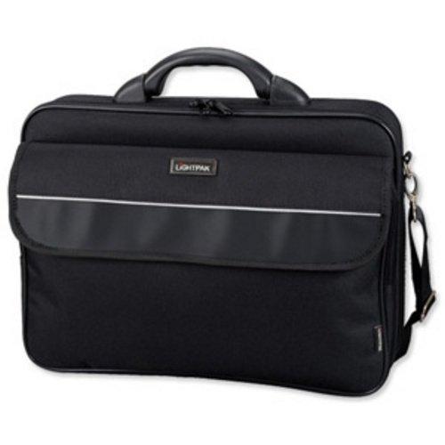 Lightpak Elite Small Nylon Case for 15.4 inch Laptop Black