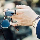 Frank S.Burton 4mm Black Tungsten Ring for Men