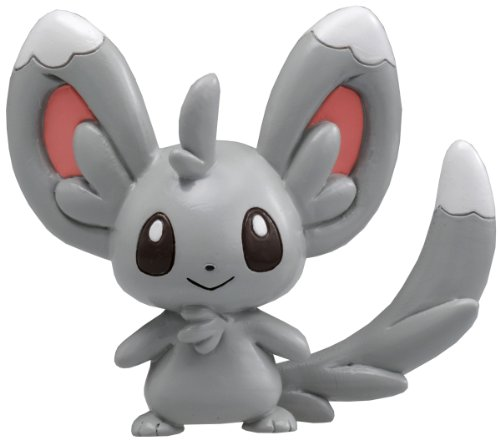 Takaratomy Pokemon Black and White Monster Collection Figure - M-022 - Chillarmy/Minccino
