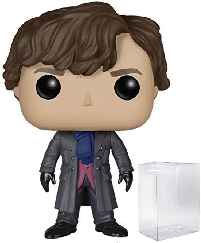 Funko Pop! TV: Sherlock - Sherlock Holmes Vinyl Figure (Includes Compatible Pop Box Protector Case)