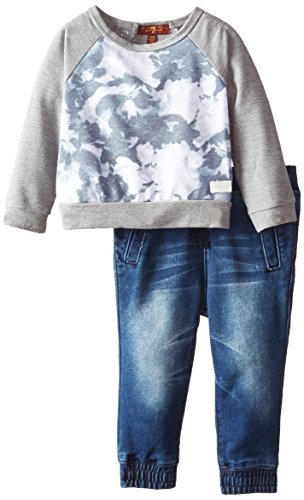 mankind Baby Girls Denim Jogger
