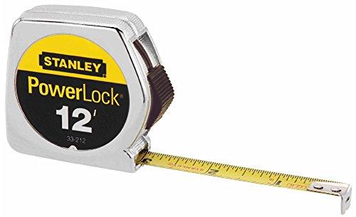Stanley Hand Tools 33-212 12' PowerLock Tape Measure With Stud Markings Every 16'' by Stanley