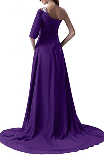 abiti da Shiny per da New spalle donna sera d'onore damigella Sunvary Red Fashion wUqWR