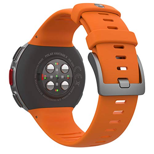 PlayBetter Polar Vantage V Pro (Orange with H10 Heart Rate Sensor) Power Bundle Portable Charger & Screen Protectors | Multisport Watch | GPS & Barometer by PlayBetter (Image #4)