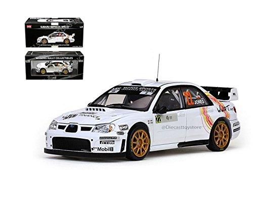 SUNSTAR 1:18 MODERN RALLY COLLECTIBLES - SUBARU IMPREZA WRC07 #22 G. JONES / C. JENKINS TOUR DE CORSE RALLY DE FRANCE 2008 DIECAST SS4486