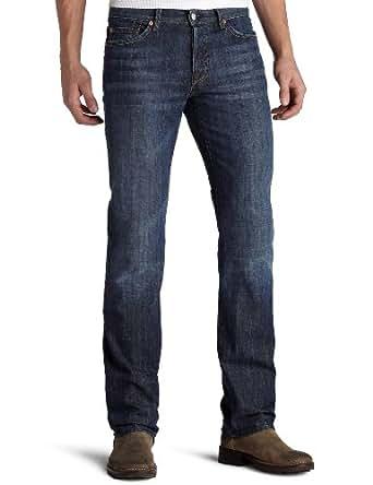 7 For All Mankind Men's Standard Straight-Leg Jean in New York Dark, New York Dark, 28x34