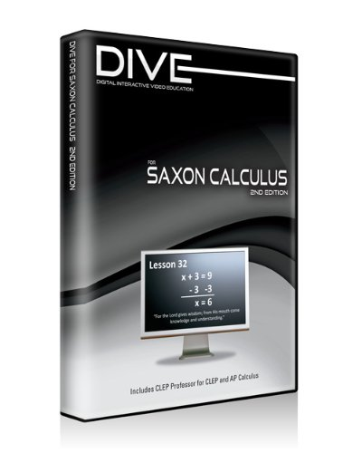 DIVE CD-ROM for Saxon Calculus 2nd Edition