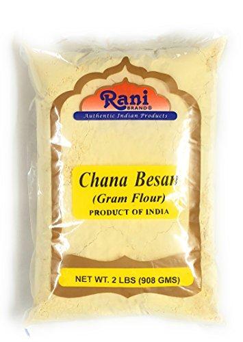(Rani Chana Besan - Chickpeas Flour, Gram 2lb (32oz) ~ All Natural   Vegan   Gluten Free Ingredients   NON-GMO   Indian Origin)