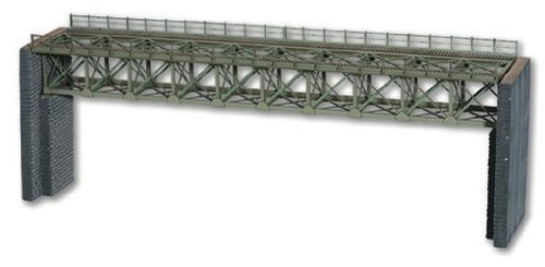 Noch 67020 37.2 cm Long Steel Bridge Landscape Modelling